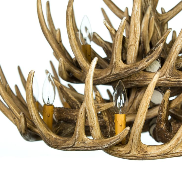 The Whitetail Deer 21 Antler Cascade Chandelier is the perfect piece to complete any room. Shop this best seller from Cast Horn Designs!