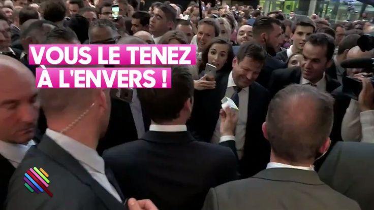La réaction d'Emmanuel Macron lorsqu'on offre à sa femme une... crème anti-âge