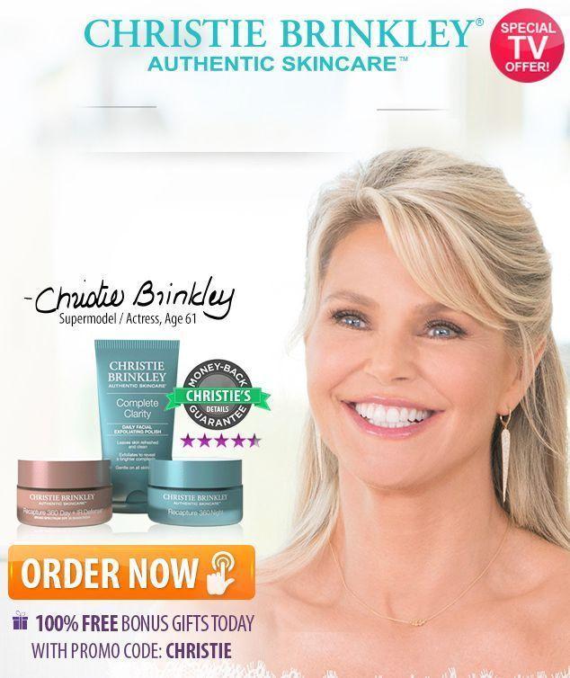 Christie Brinkley Skincare Bio Clock Anti Aging System Naturalbeautyremedies Skin Christie Brinkley Skin Care Anti Aging Skin Care Anti Aging Skin Products