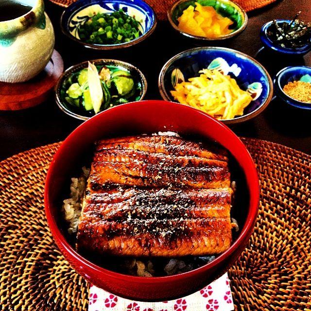 昨日鰻を食べれなかった相方くんのために今日も鰻ごはん⑅❛ั◡❛ั⑅ - 32件のもぐもぐ - 櫃まぶし風鰻丼 by kyai4ever