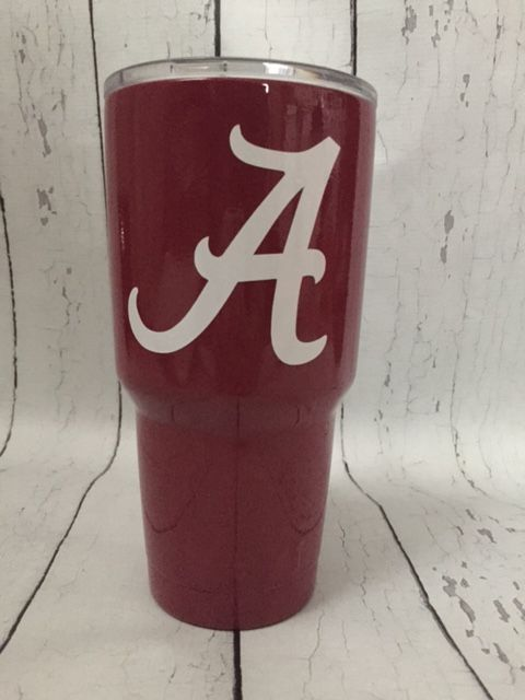 Alabama Roll Tide 30 oz. YETI Rambler™ Dipped | The Preppy Pair