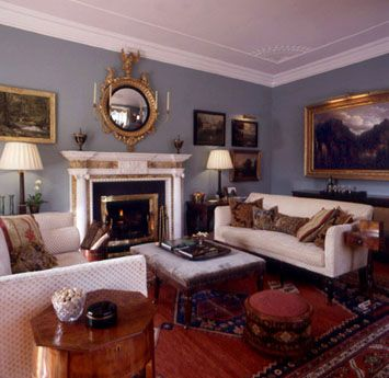 Mariette Himes Gomez Irish Home · Hickory ChairEnglish Country  HousesTraditional Living RoomsEmerald ... Part 72
