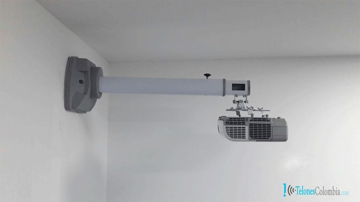 Soporte de pared para video beam