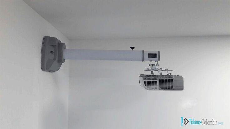 25 ideas destacadas sobre pared de proyector en pinterest - Soportes para proyectores ...