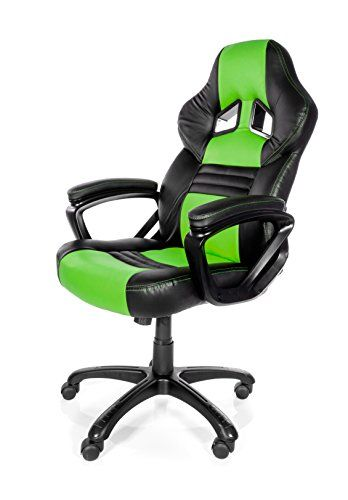 Thick padded arm, seat and backrest.Ergonomic design.Synthetic PU leather for…