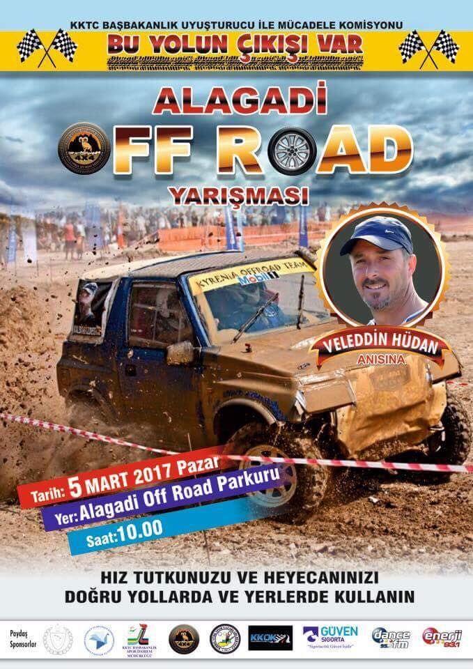 alagani off road yarışları KKTC