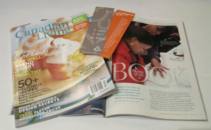 We were featured in the April 2013 issue of Canadian Living. Check out page 75 (or this link http://ow.ly/khsr9) for our story.