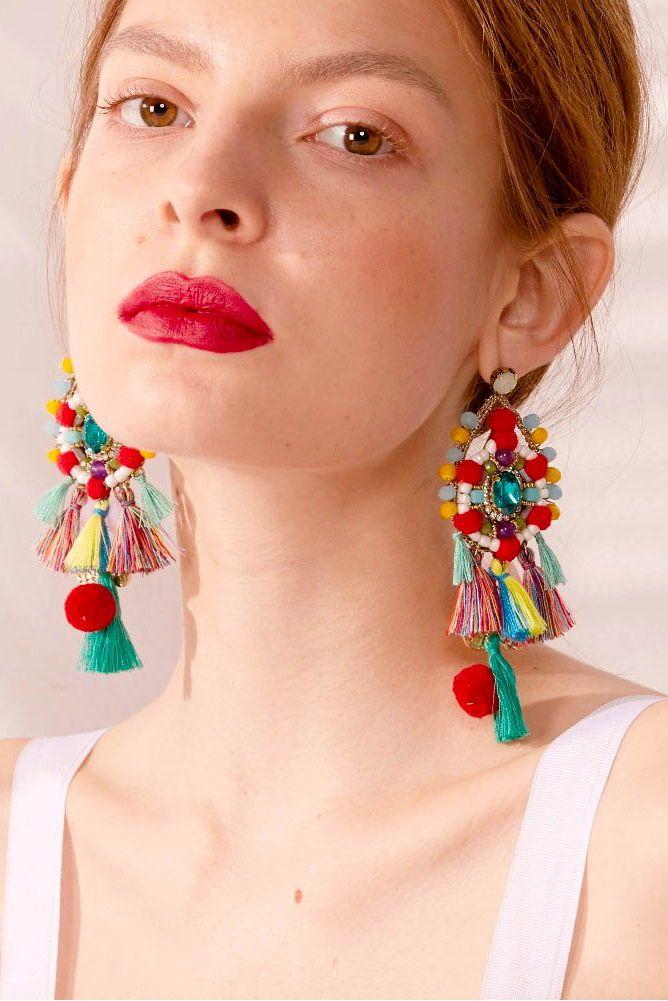 Ava Fringe Tassel EarringsFREE WORLDWIDE SHIPPING @stylelimits1