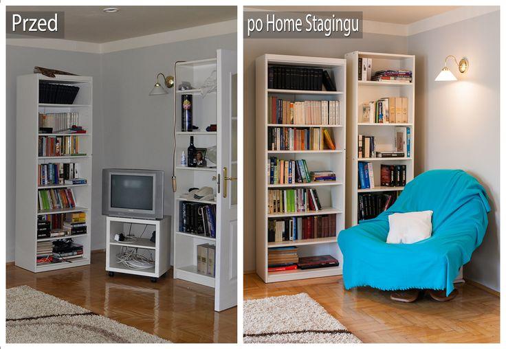 "#homestaging w Krakowie ""before & after"""