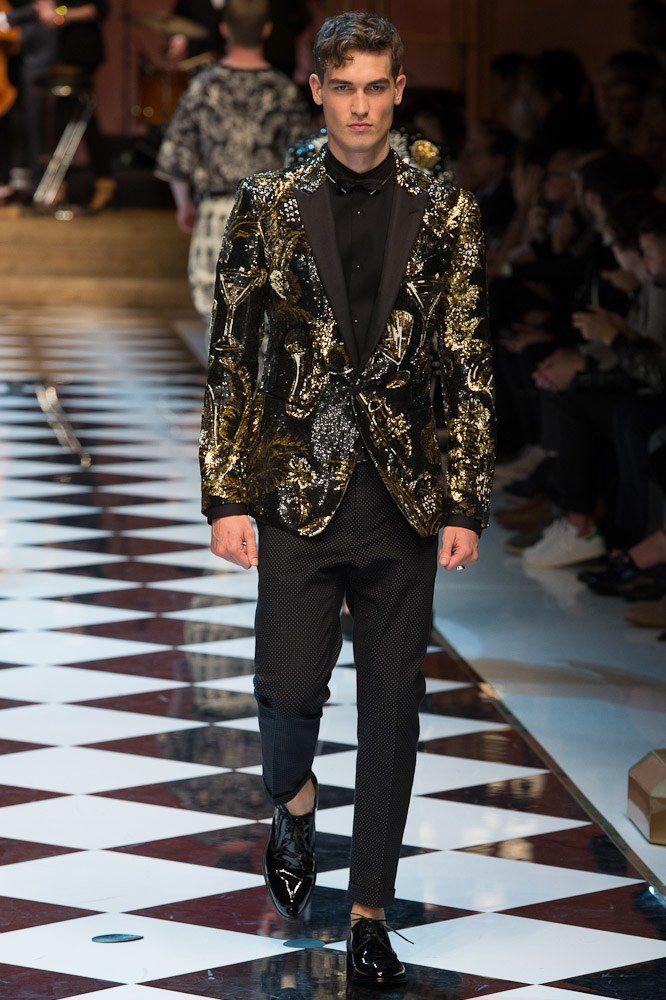 Dolce & Gabbana Spring 2017 Menswear Fashion Show - Jason