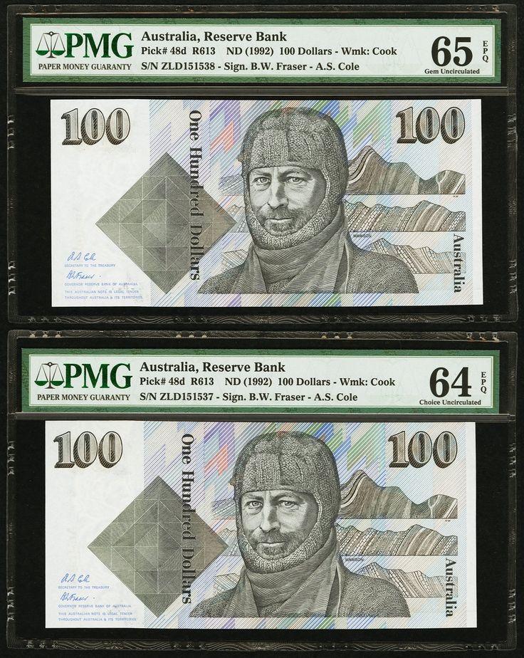 Australia Reserve Bank $100 ND (1992) - 1
