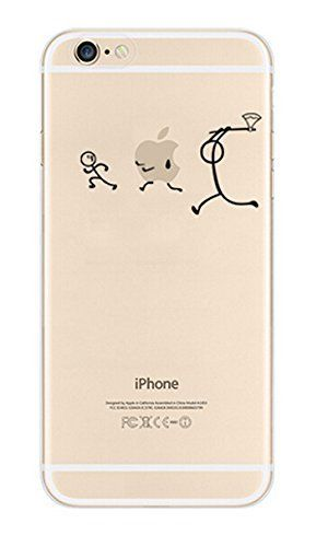 NOVAGO Elegante funda - gel de silicona irrompible - para iPhone 6 (persecución) - http://www.tiendasmoviles.net/2015/12/novago-elegante-funda-gel-de-silicona-irrompible-para-iphone-6-persecucion/