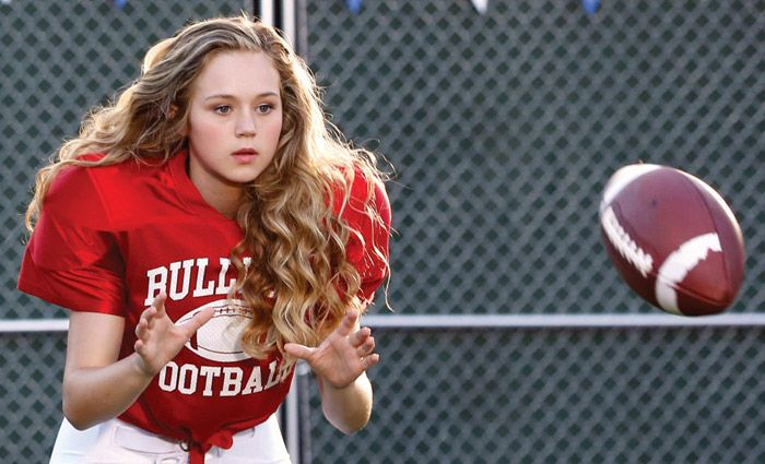 Brec Bassinger stars in 'Bella and The Bulldogs' on Nickelodeon