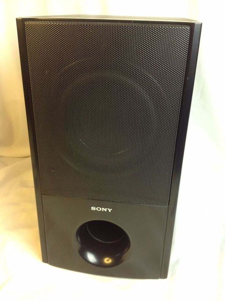 Sony SS-WS95 Home Theater Surround Sound Subwoofer Speaker #Sony