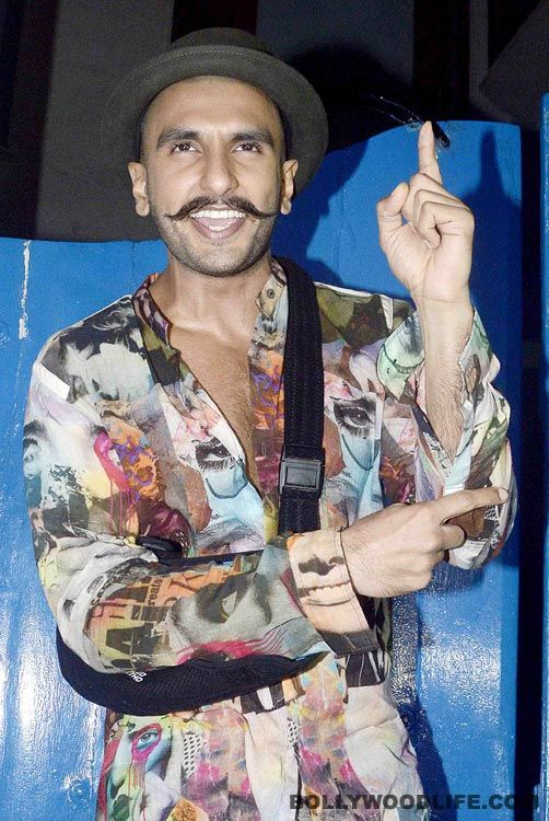 Ranveer Singh at his eccentric best