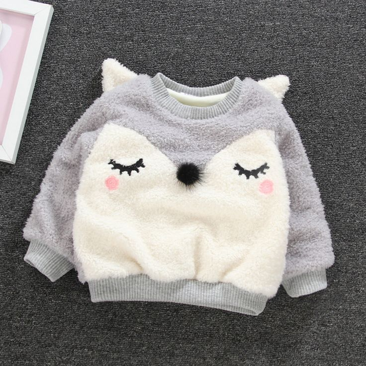 2017 New Children Sweaters Autumn Winter Children Long Sleeve Cute Hoodies for Girls Warm Clothing Baby Kids Cartoon Sweaters #Affiliate