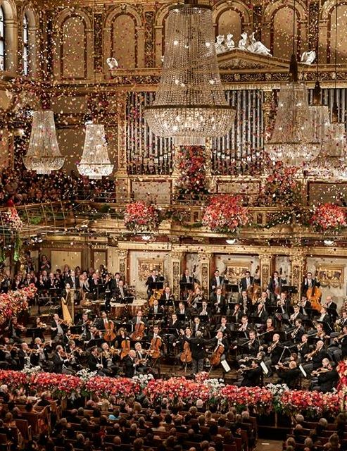 Enjoy the Vienna Philharmonic New Year's Concert - Austria!