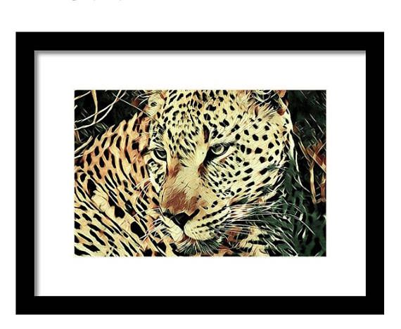 Born to Be Wild: Framed Leopard Wall Art
