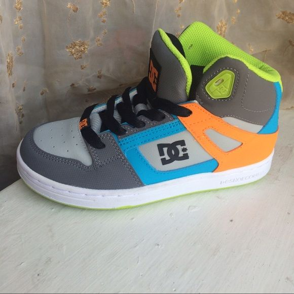 DC rebound youth shoes New never worn DC rebound boys shoes size 3. No Trades! Price is firm. DC Shoes Sneakers