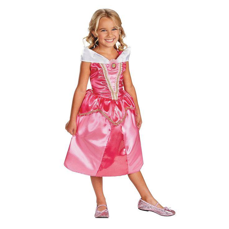 disney princess sleeping beauty classic aurora sparkle princess costume for girls