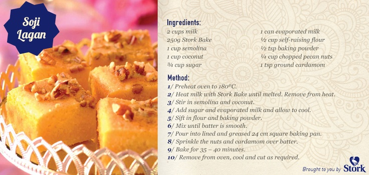 End off your Diwali tomorrow with some delicious Soji Lagan! #recipe