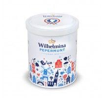 Wilhelmina pepermunt Luxe blik Holland 500g