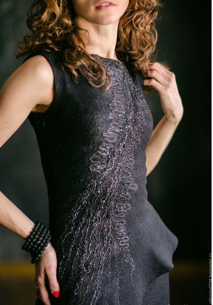 """Купить Платье """"Маленькое черное 4"""" - черный, абстрактный, платье черное…"""