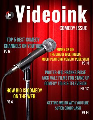 In case you missed it...the internet is pretty funny! Check out out comedy special issue with laugh out loud online video personalities that are dominating the space, stats, and features to tickle your funny bone here http://bit.ly/1esUwTd
