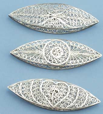Filigree tatting shuttles from Handy Hands - beautiful