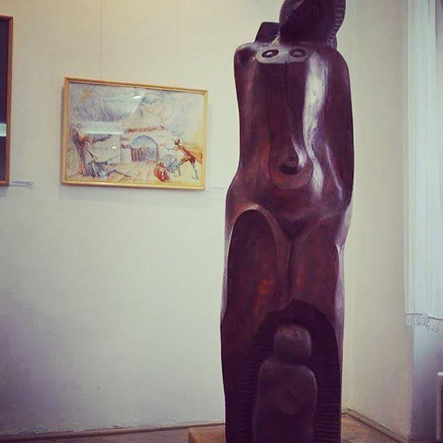 Maternity #wood #sculpture #kézdi #inczelászló #céhtörténeti #múzeum