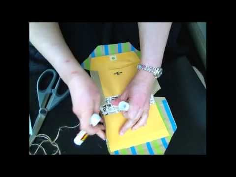 TUTORIAL: 6x9 Envelope Junk Journal - YouTube