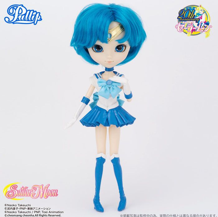 Sailor Moon Puppe Pullip Sailor Merkur 33 cm - Pullip Dolls - Sailor Mercury