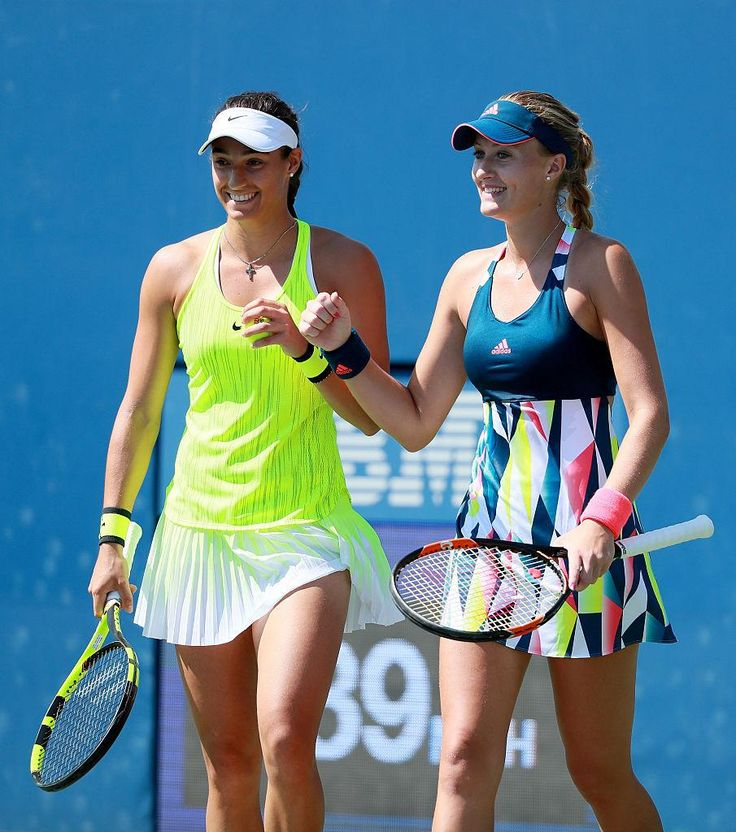 No. 1 seeds Caroline Garcia and Kiki Mladenovic are moving on to the Women's Doubles Finals - 2016 US Open - from US Open Tennis @usopen