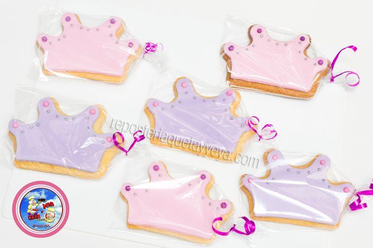 Galletas Coronitas - crown cookies