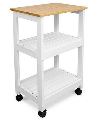 Catskill Craft Utility Kitchen Cart - Kitchen Organization - for the home - Macys