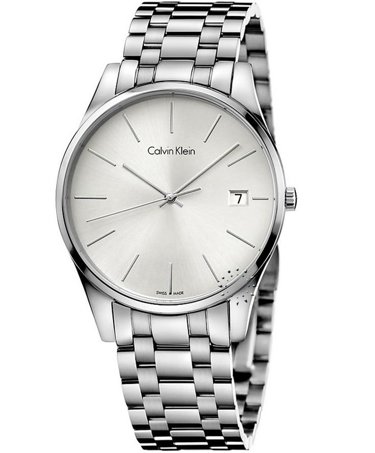 Calvin KLEIN Time Stainless Steel Bracelet Τιμή: 267€ http://www.oroloi.gr/product_info.php?products_id=38211