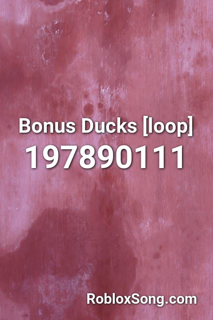 bonus ducks roblox id