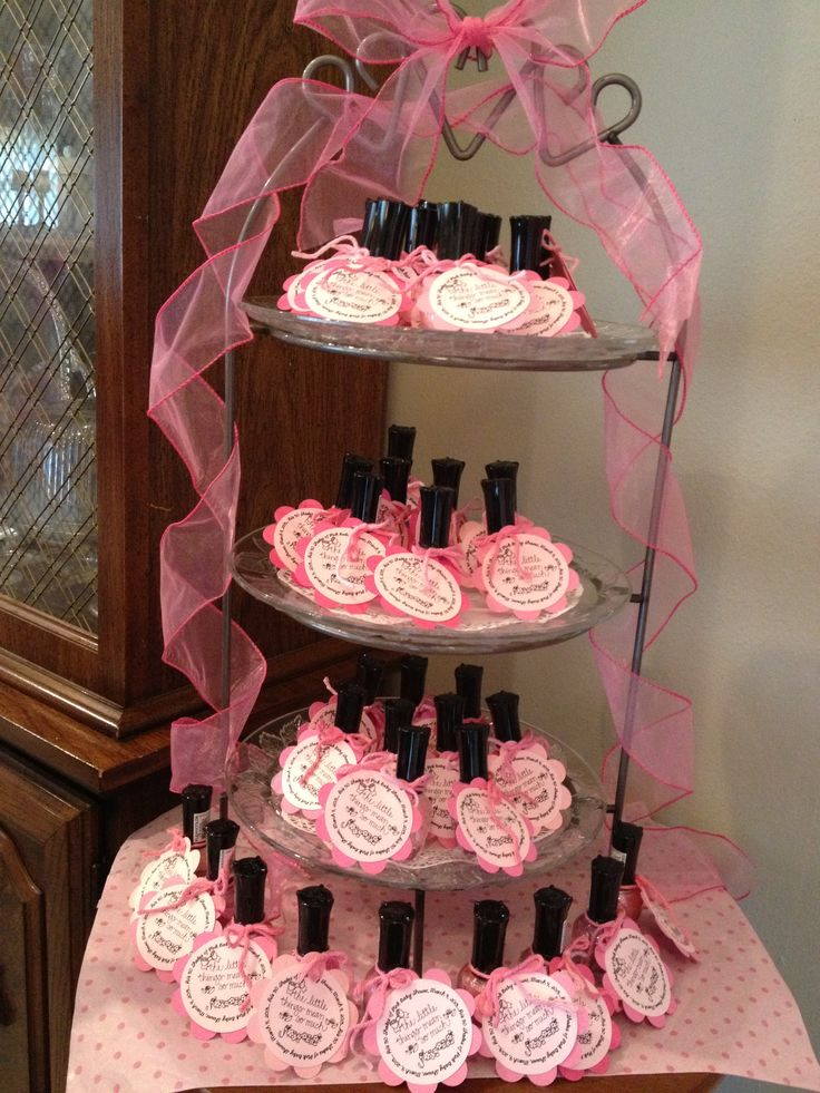 50 shades of pink baby shower party favors