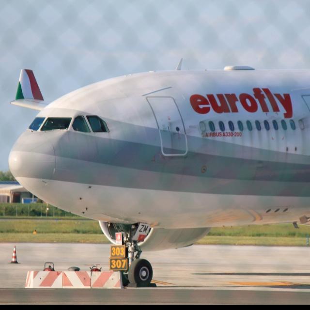 A330/2 Eurofly Bologna airport Italy
