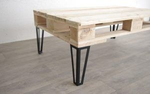 Pieds, pied esprit hairpin legs 3 branches pour votre table basse en palette par exemple. Fabrication Française. Disponible en 30 et 40cm sur notre site internet.