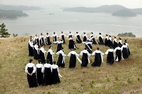 Ganggangsullae 강강술래    Korean women ballad dance