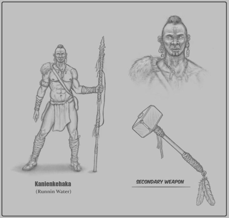Tribal Warrior Concept by Parseh-Designs