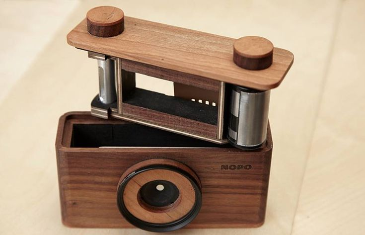 Handcraft Wooden Pinhole Cameras – Fubiz Media