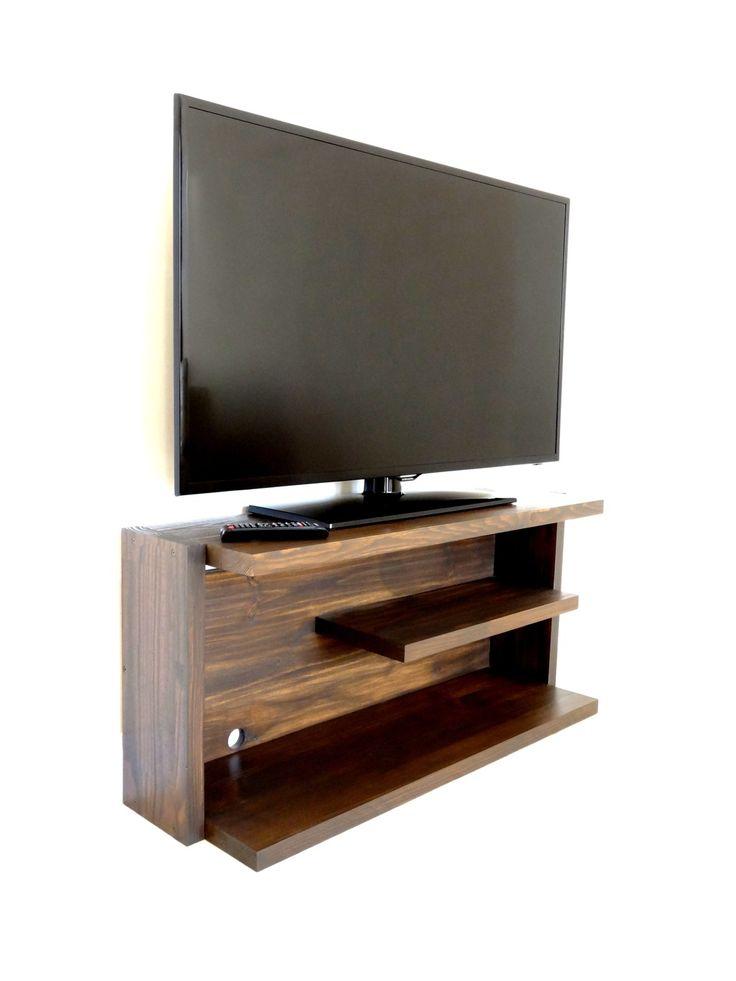 Les 25 meilleures id es de la cat gorie meuble tv bois - Meuble tv design bois massif ...