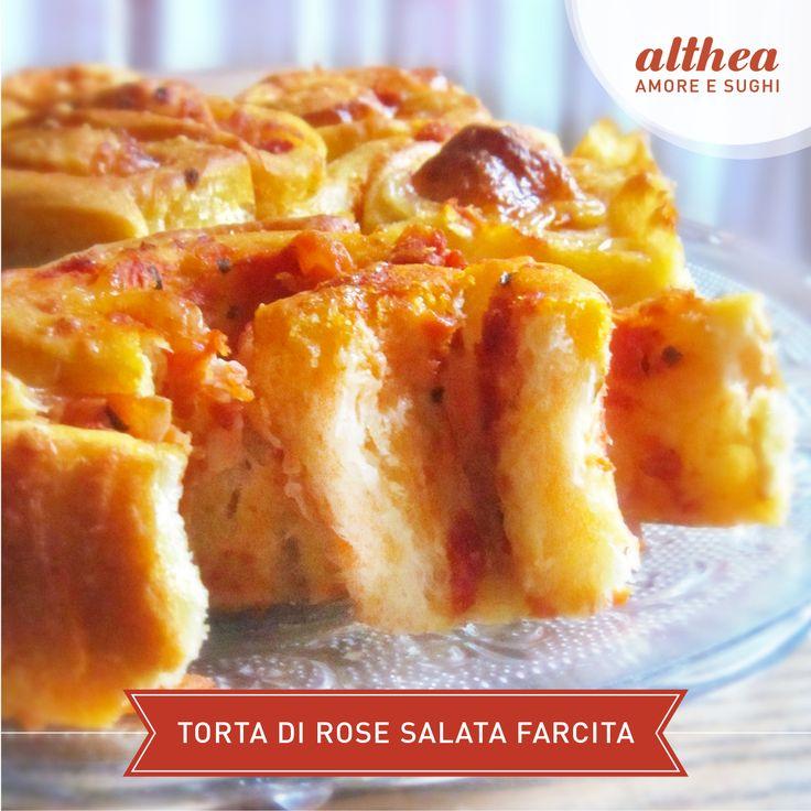 La nostra amica Sonia del blog http://lacasadellebriciole.blogspot.it/ ha preparato una buonissima Torta di rose salata farcita con sugo al Basilico Althea, prosciutto cotto e scamorza affumicata. Ecco la ricetta: http://lacasadellebriciole.blogspot.it/2015/10/la-mia-prima-ricetta-con-i-sughi-althea.html Scommettiamo che non ne resterà nemmeno una briciola? #torta #tortasalata #sugo #pomodoro #ricetta #autunno