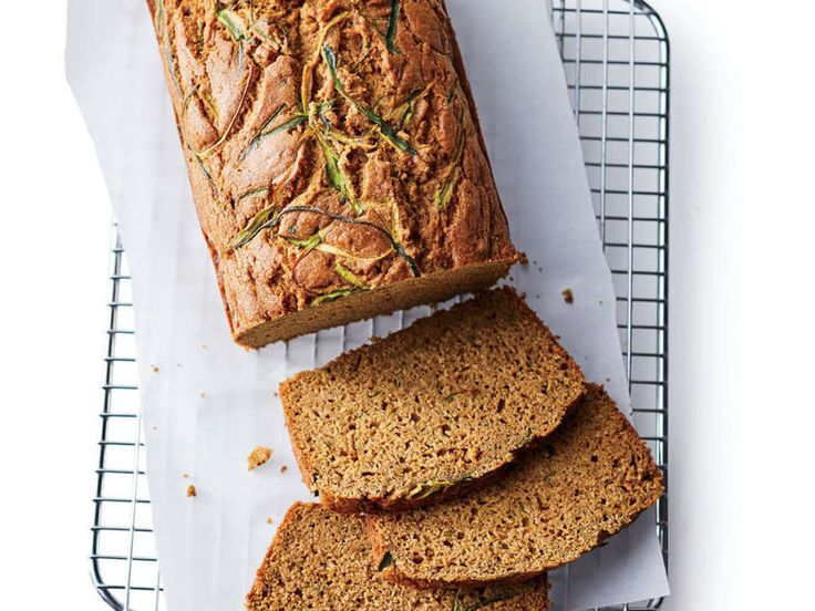 Super-moist and super-easy, this quickbread gets a triple hit of coconut goodness from coconut sugar (you can sub light or dark brown sugar), canned coconut milk, and melted coconut oil—but the finished bread tastes deliciously subtly of the fuzzy nut. (No worries—it does not taste like tanning lotion!) For extra richness, you can stir in a teaspoon or two of vanilla extract, or top the batter with shredded unsweetened coconut before baking, but the simple loaf tastes pretty great as is.