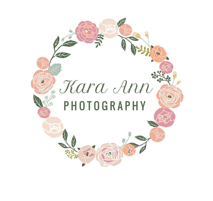 photography logo / photo branding / photography brand / flower ...