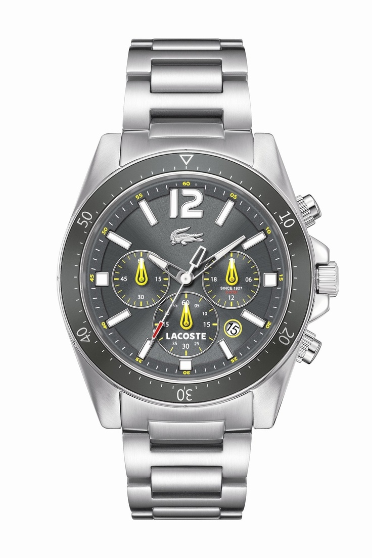 Lacoste Men's Grey Seattle : Watches