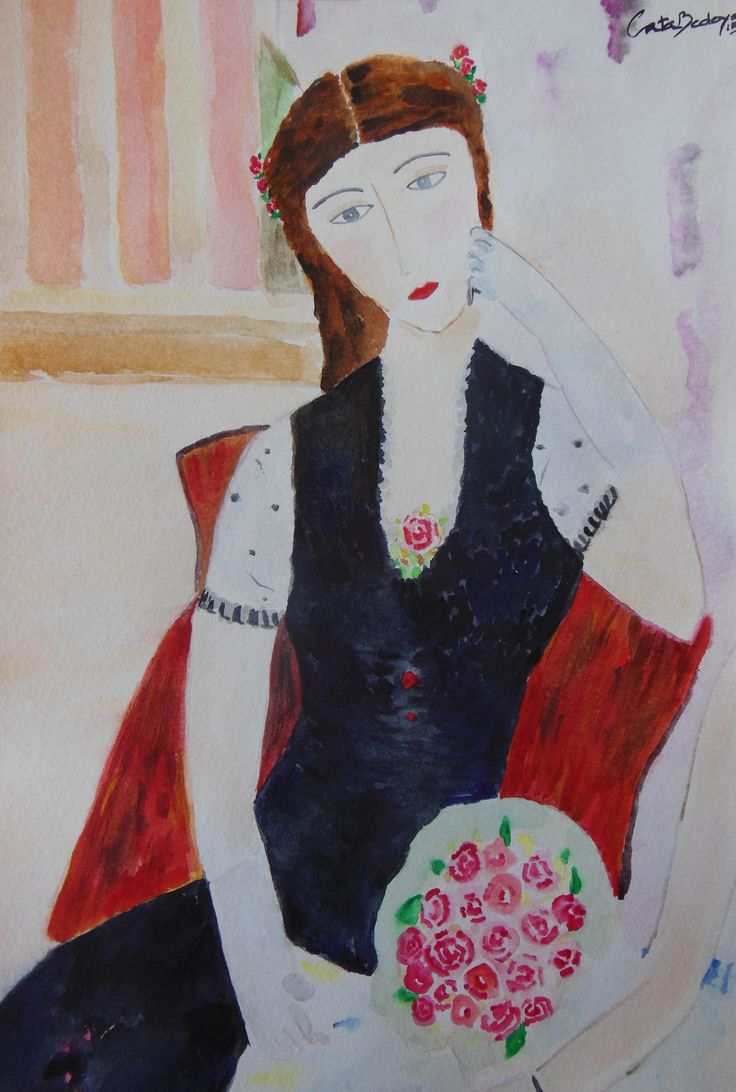 Watercolor Paint - Silvana 20 x 30 cm Available