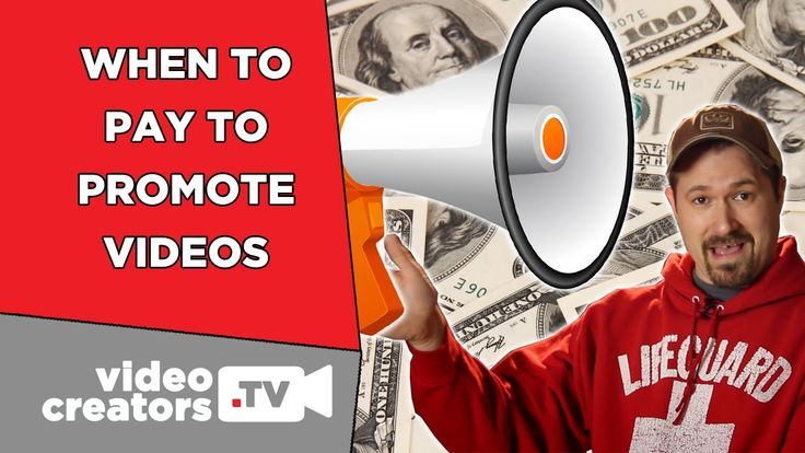 When You Should Pay to Promote your Videos  When is it time to start paying money to promote your YouTube videos? Approximately around the time when this happens.